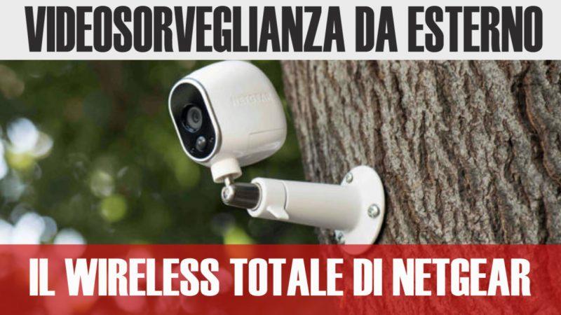Le migliori telecamere wifi da esterno 2018 arlo by for Telecamere da esterno casa