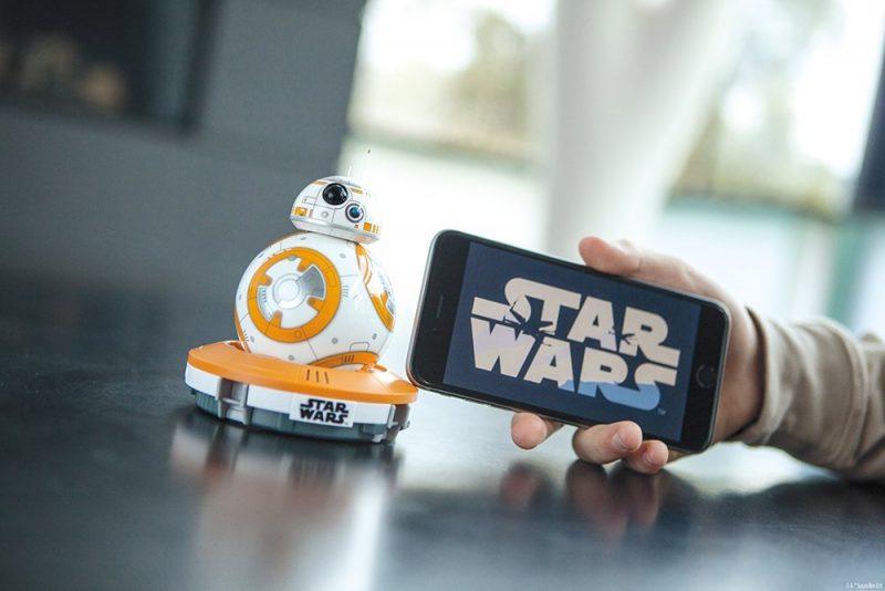 sphero star wars robot giocattolo