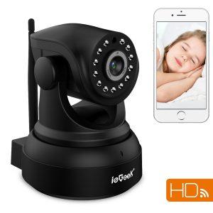 ieGeek telecamera di sorveglianza 720P
