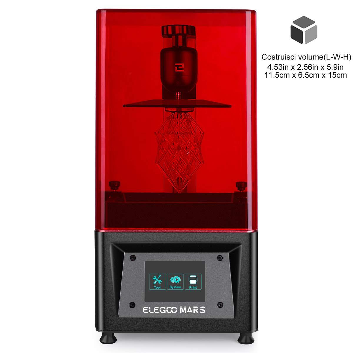 ELEGOO Stampante 3D LCD per Fotopolimerizzante MARS UV